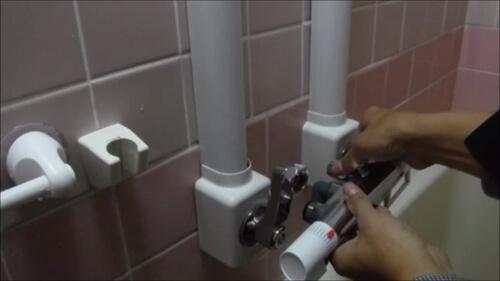 お風呂の2ハンドル蛇口をサーモスタット混合水栓に交換してみたら。。。